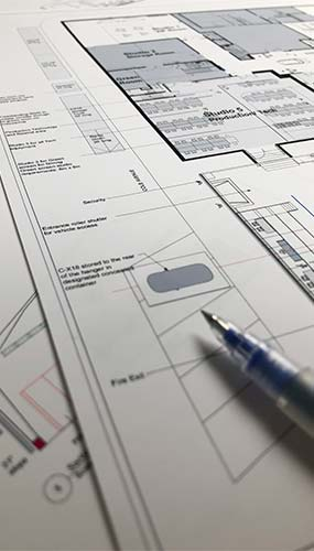 3D design technical drawing